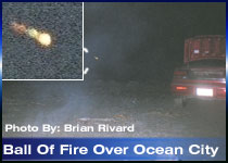 Fireball caught from Ocean City (Washington) Brian Rivard
