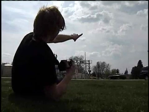 Wisn.com Report - Alf Nathan caught the meteor Video